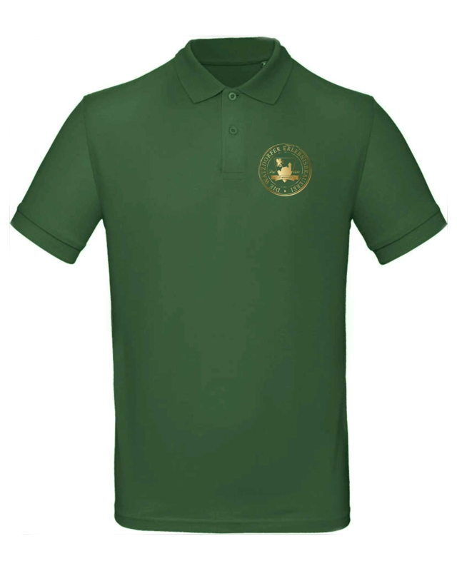 Herren Poloshirt grün