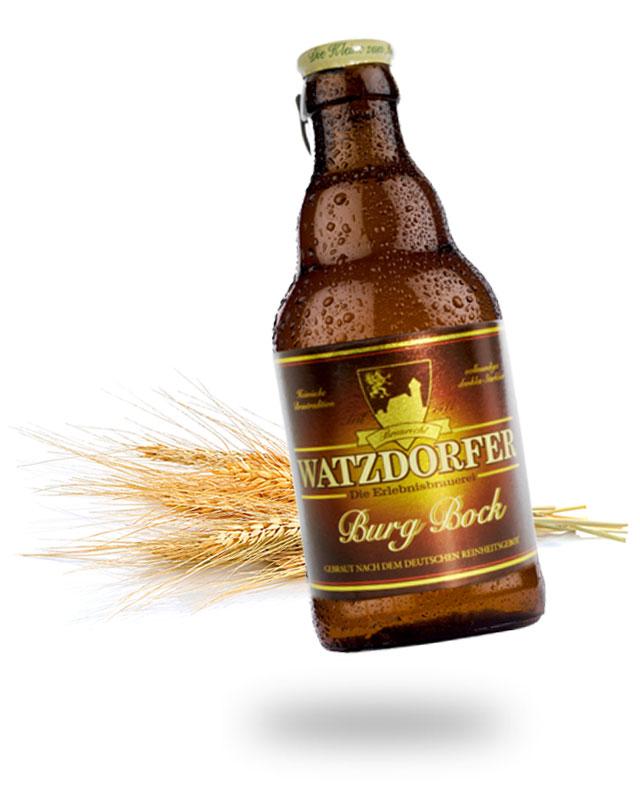 Flasche Burgbock