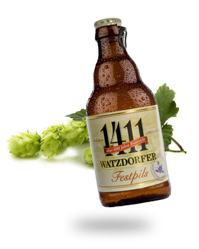 Festpils Flasche