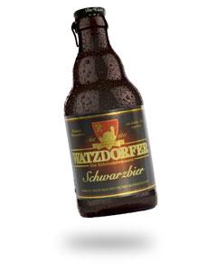 Flasche Schwarzbier